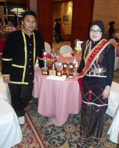 Pengurus & Pen.Pengurus Desa Aman bersama Awards yg dimenangi